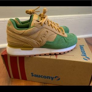 SAUCONY ORIGINALS 💚💛